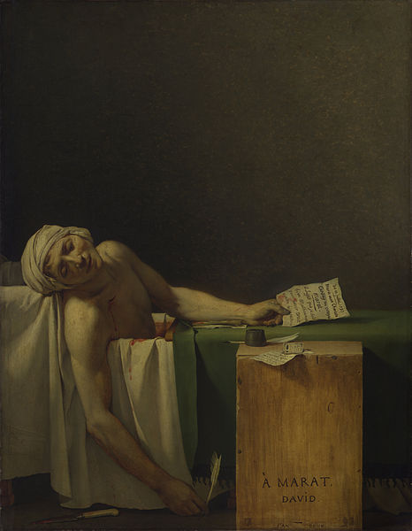 La Mort de Marat [The Death of Marat]