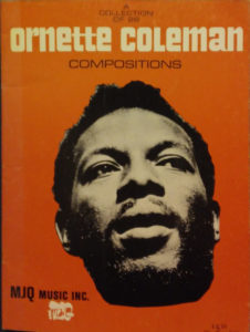 A Collection of 26 Ornette Coleman Compositions
