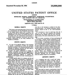 U.S. Pat. No. 10,000,000