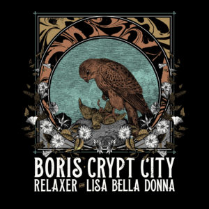 EarthQuaker Devices Presents: Boris | Relaxer | Crypt City | Lisa Bella Donna
